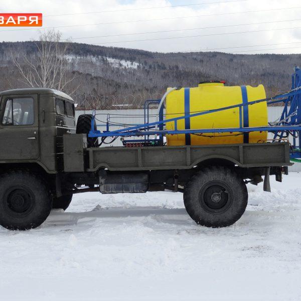 Опрыскиватель штанговый монтируемый ОМ-2000-24-03Ф